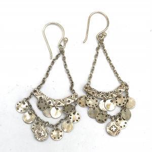 W2893 Silpada Sterling Silver CONFETTI Earrings (b